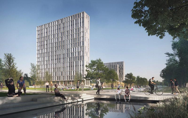 Nieuwe studentenwoningen op campus TU/e