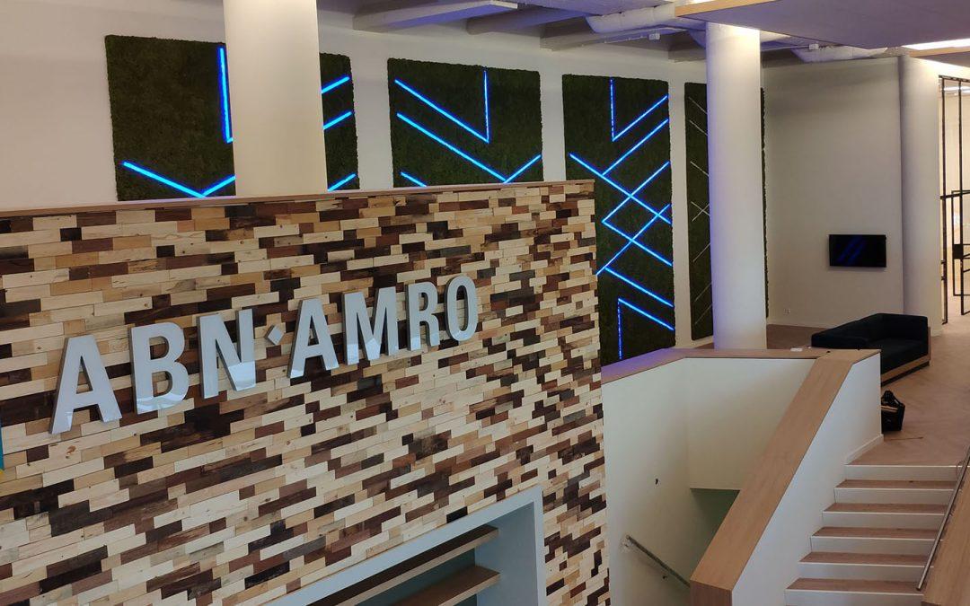 Een 'groen' kantoor voor ABN-AMRO